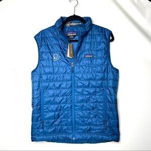 NWT Patagonia Men's Nano Puff® Vest Andes blue
